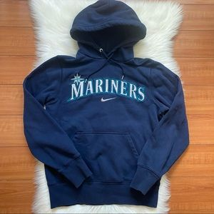 Nike Seattle Mariners Pullover Sweatshirt Logo Sm